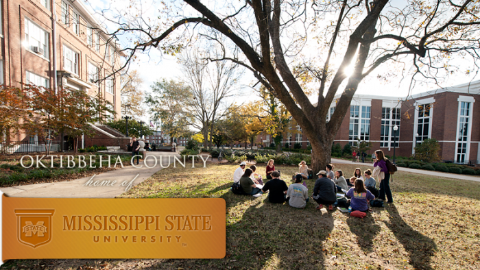 Oktibbeha County home of Mississippi State University